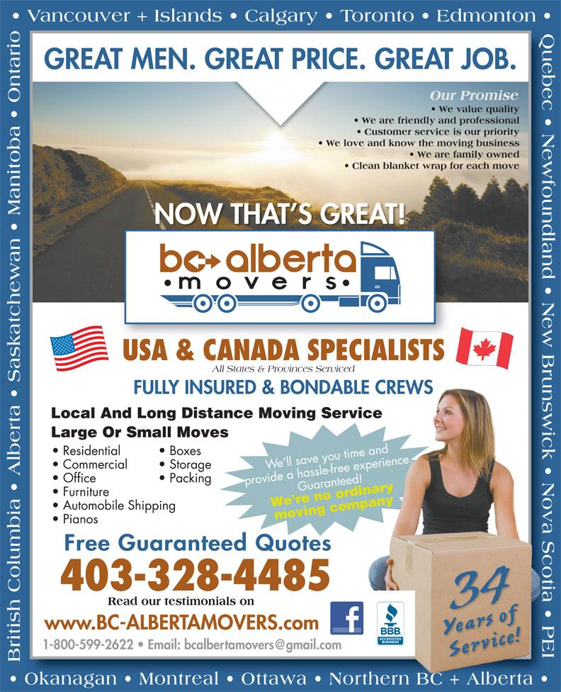 BC Alberta Movers
