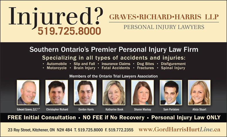 Graves Richard Harris LLP (519-725-8000) - Display Ad -