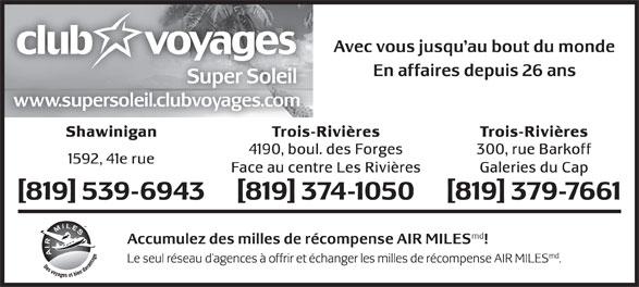 Ads Agence De Voyages Durocher Inc