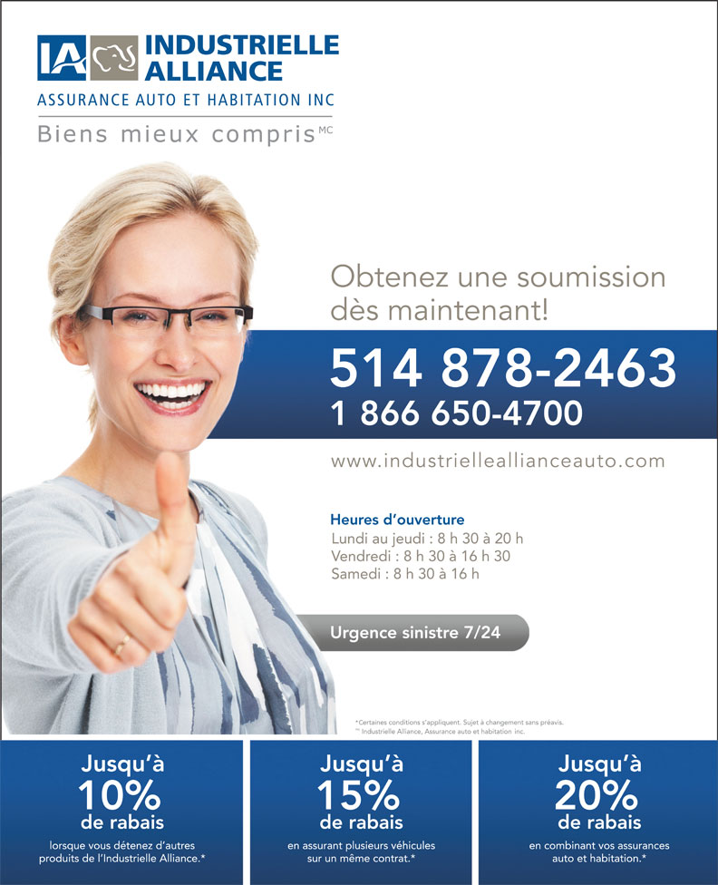 Automobile insurance courtier assurance auto longueuil for Assurance maison industrielle alliance