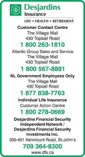 Desjardins Insurance (1-800-263-1810) - Annonce illustrée======= -