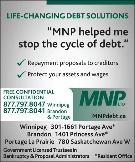 MNP Ltd (204-727-0661) - Annonce illustrée======= -