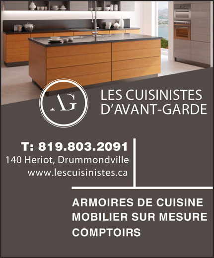 les cuisines d 39 avant garde qc. Black Bedroom Furniture Sets. Home Design Ideas