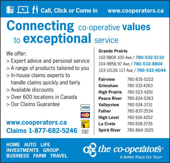 The Co-operators - Display Ad -