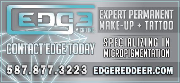 Edge Micropigmentation Inc (587-877-3223) - Display Ad -