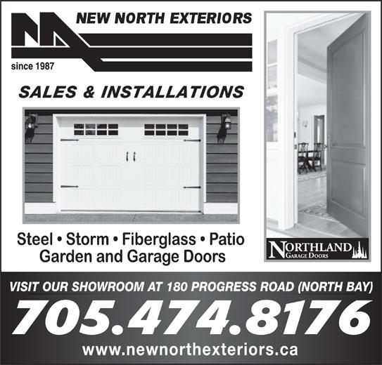 New North Exteriors (705-474-8176) - Display Ad -