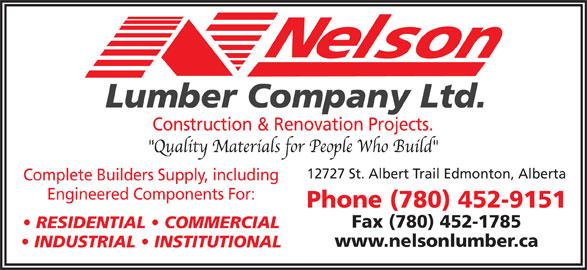 Ads Nelson Lumber Co Ltd