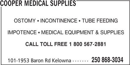 Ads Cooper Medical Supplies