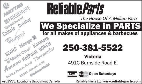 Ads Reliable Parts Ltd