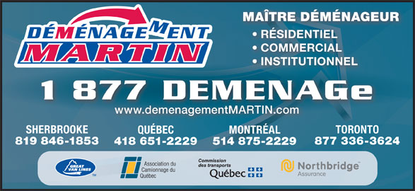 Ads Déménagement Martin Inc