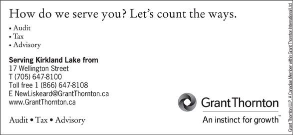Grant Thornton (705-647-8100) - Display Ad -