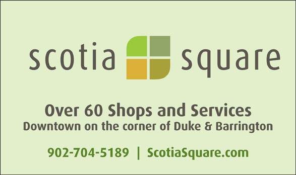 Scotia Square Mall (902-429-3660) - Display Ad -