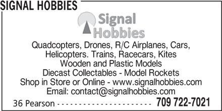 Ads Signal Hobbies