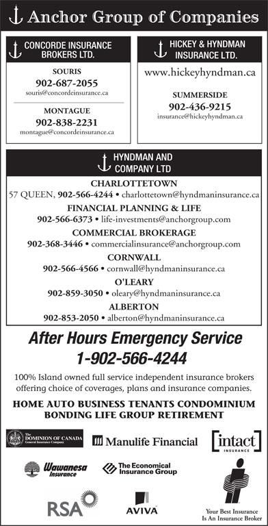 Hyndman & Co Ltd (902-566-4244) - Display Ad -