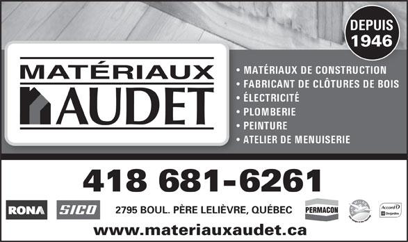 Rona Matériaux (418-681-6261) - Display Ad -