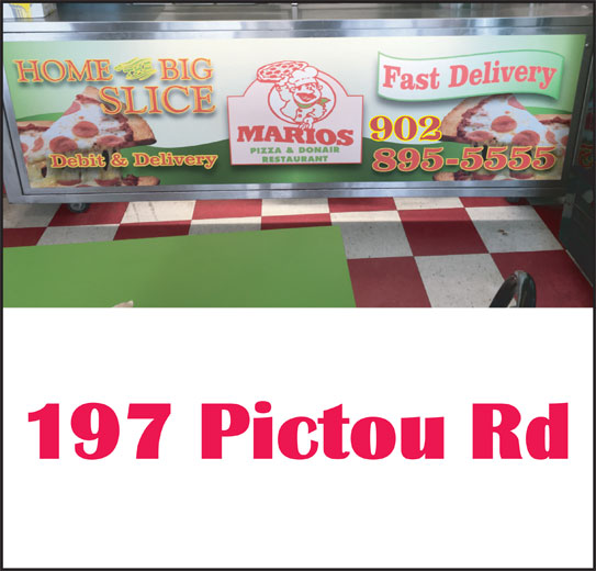 Mario's Pizza & Donair (902-897-5555) - Annonce illustrée======= -