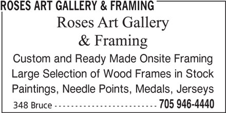 Ads Roses Art Gallery & Framing