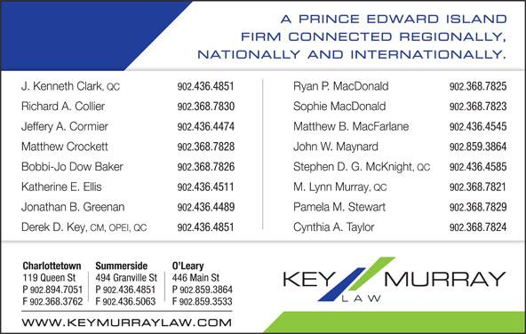 Key Murray Law (902-894-7051) - Display Ad -