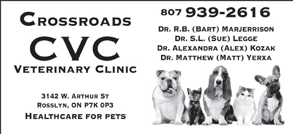 Ads Crossroads Veterinary Clinic (CVC)