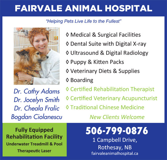 Fairvale Animal (506-847-7519) - Display Ad -
