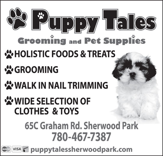 Puppy Tales (780-467-7387) - Annonce illustrée======= -