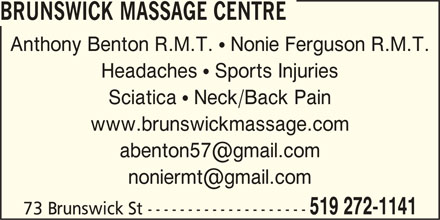 Ads Brunswick Massage Centre