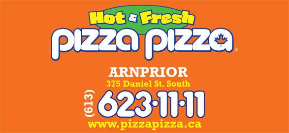 Pizza Pizza (613-623-1111) - Annonce illustrée======= -
