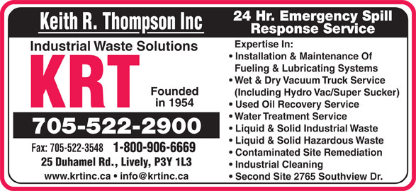 Ads Keith R Thompson Inc