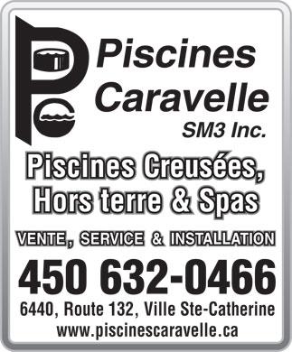Piscines caravelle inc 6440 132 rte sainte catherine qc for Caravelle piscine