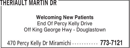 MIramichi Smiles Family Dentistry (506-773-7121) - Annonce illustrée======= - Welcoming New Patients - End Of Percy Kelly Drive - Off King George Hwy - Douglastown