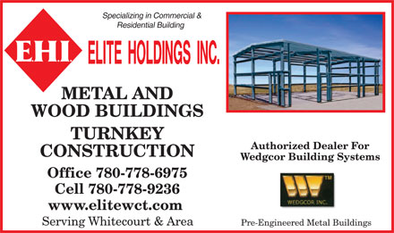 Elite Construction (780-778-6975) - Display Ad