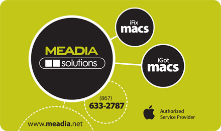 MEADIAsolutions (867-633-2787) - Display Ad - (867) 633-2787
