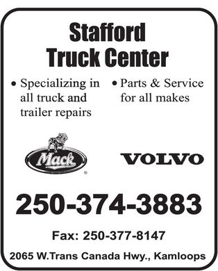 Stafford Truck Centre (250-374-3883) - Annonce illustr&eacute;e