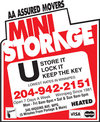 Mini Storage (204-809-3146) - Display Ad