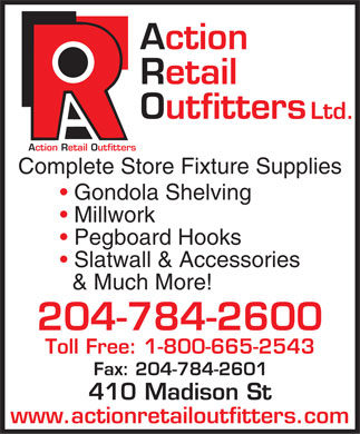 Action Retail Outfitters Ltd (204-784-2600) - Display Ad