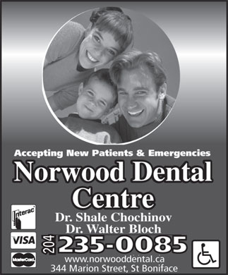 Norwood Dental Centre (204-235-0085) - Annonce illustr&eacute;e