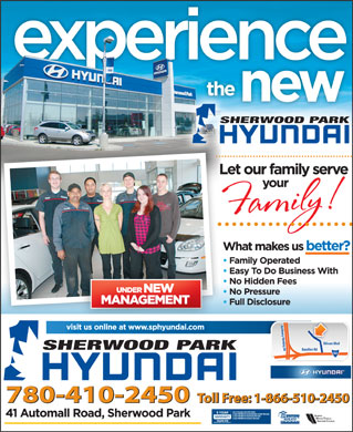 Sherwood Park Hyundai (780-410-2450) - Display Ad