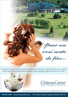 Château Cartier (819-303-0437) - Display Ad