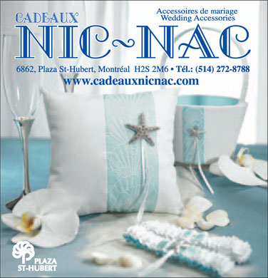 Cadeaux Nic-Nac (514-272-8788) - Display Ad
