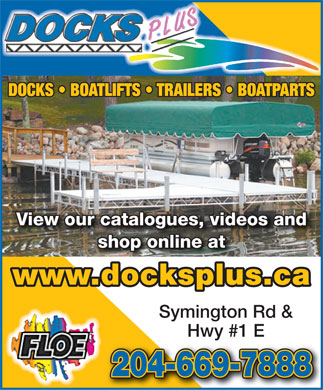 Docks Plus (204-669-7888) - Display Ad