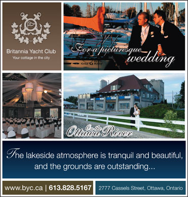 Britannia Yacht Club (613-828-5167) - Annonce illustr&eacute;e