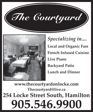 Courtyard The (905-546-9900) - Annonce illustr&eacute;e