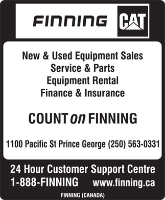 Finning (Canada) (250-563-0331) - Display Ad