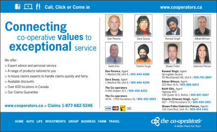 Co-operators The (1-877-682-5246) - Display Ad