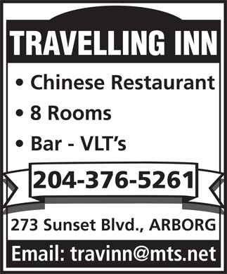 Travelling Inn (204-376-5261) - Annonce illustr&eacute;e