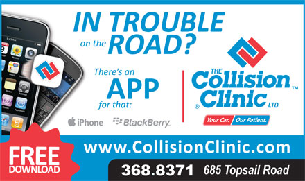 Collision Clinic Ltd (709-368-8371) - Annonce illustrée