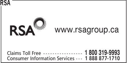RSA (1-888-371-4810) - Annonce illustrée - www.rsagroup.ca  www.rsagroup.ca  www.rsagroup.ca  www.rsagroup.ca  www.rsagroup.ca  www.rsagroup.ca  www.rsagroup.ca  www.rsagroup.ca