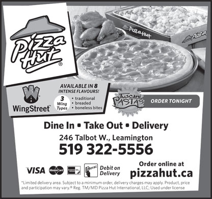 Pizza Hut (519-322-5556) - Display Ad