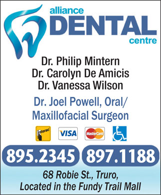 Alliance Dental Centre (902-895-2345) - Annonce illustrée