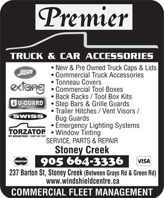 ... , Premier Truck Accessories (905-664-3336) - Display Ad - TRUCK & CAR